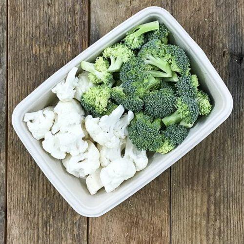 Organic Cauliflower And Broccoli Florets – 400g