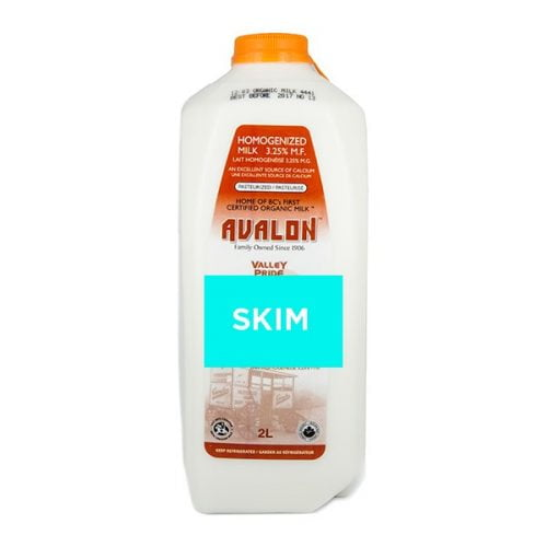Valley Pride Skim Milk, 2L Jug – 9/cs
