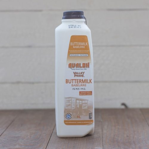 Avalon Buttermilk Milk, 1L – 12/cs