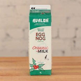 Valley Pride Organic Eggnog, 1L – 16/cs