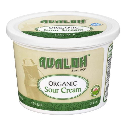 Avalon Organic Sour Cream, 500ml – 6/cs