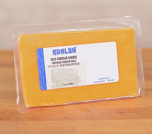 Avalon Cheddar Cheese Mild – 4.5Kg