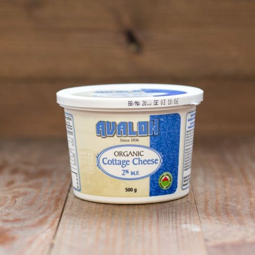 Avalon Organic Cottage Cheese 2% 500g – 6/cs