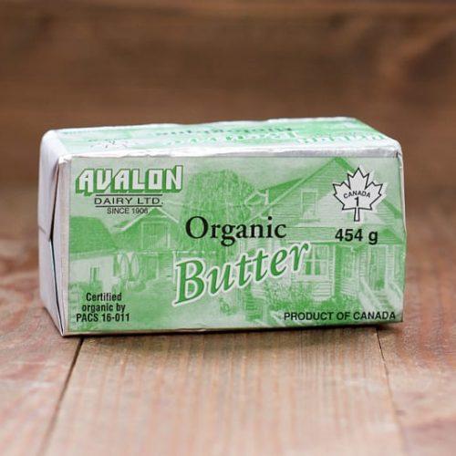 Avalon Organic Butter, Salted 454g – 10/cs