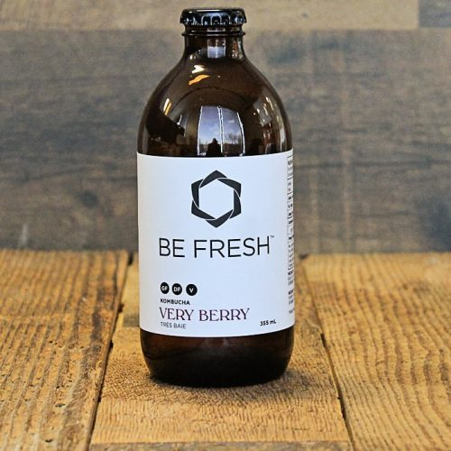 Be Fresh Organic Kombucha, Very Berry – 355 ML – 16/cs