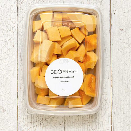 Be Fresh Organic Squash, Butternut, Fresh Cut – 400g