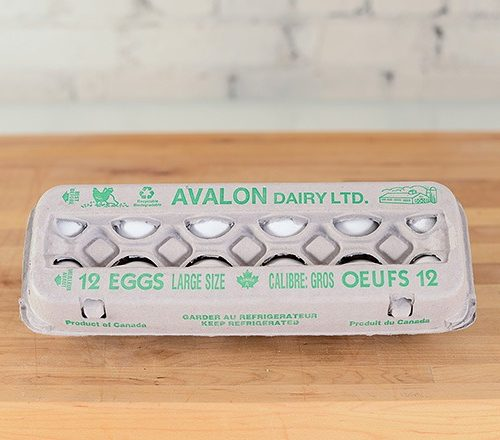 Avalon Eggs Large White, 1dz – 15dz/cs