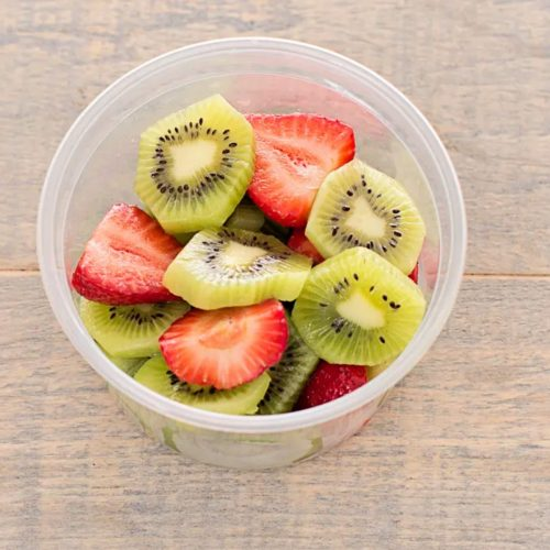 Be Fresh Organic Strawberry And Kiwi Cup, Fresh Cut – 250g