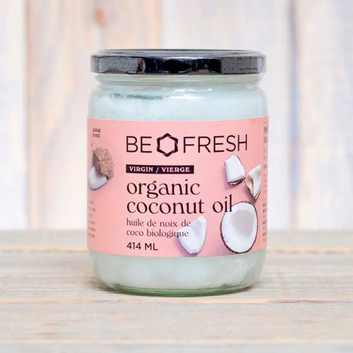 Be Fresh Organic Virgin Coconut Oil 414mL- 12/cs